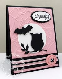 "Cute for girl's October birthday ~ ""Hope you have a Spook-tabulous birthday!""     by stampin pretty"