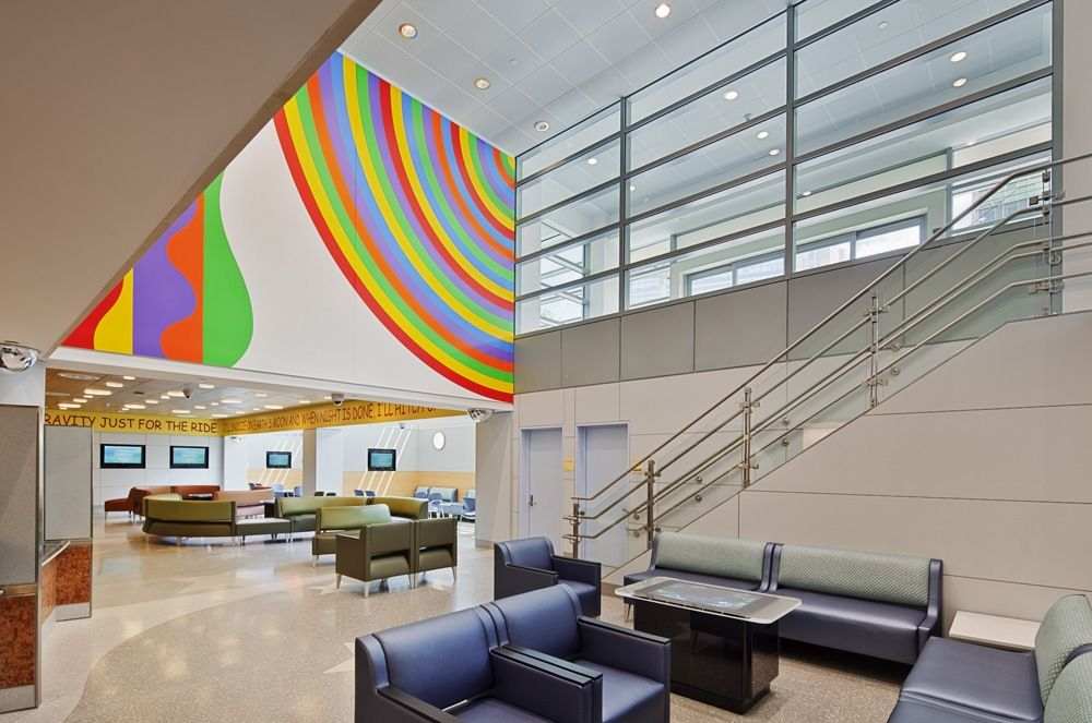 Children S Hospital Newyork Presbyterian Hospital Interior Design Hospital Interior Hospital Design