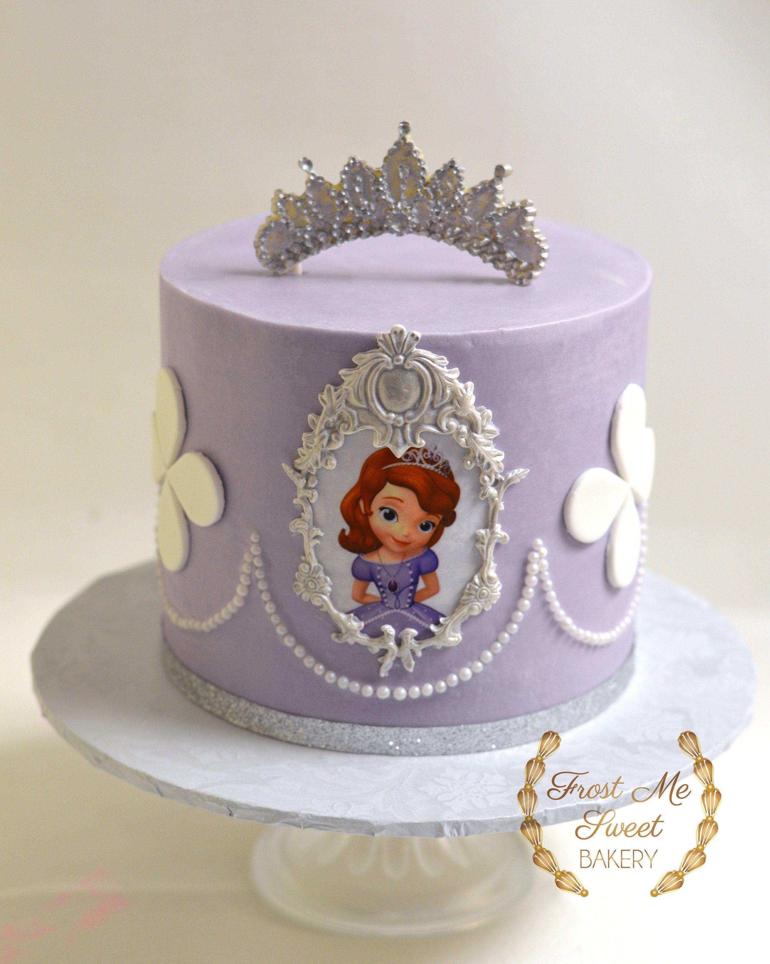 Princess Sophia Purple Cake Jpg Princess Sofia Birthday Cake