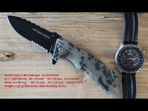 Couteau de poche A 30 Challenger