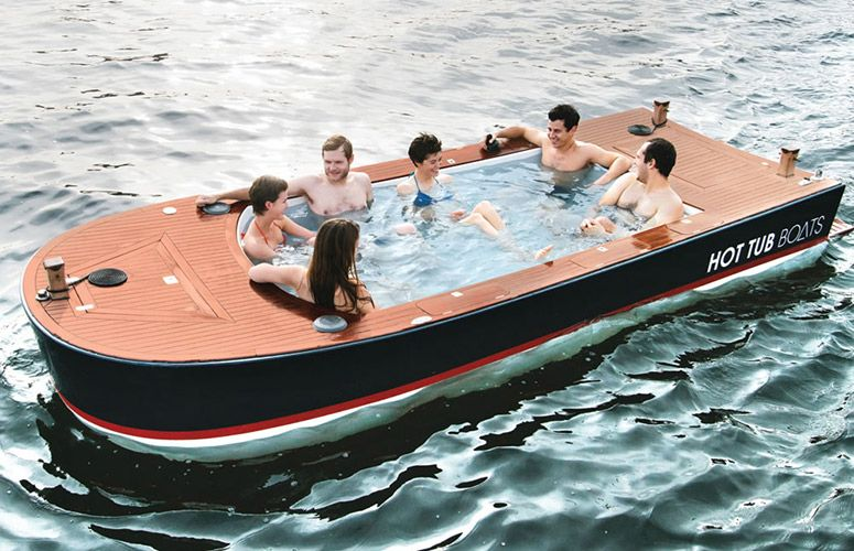 Hot Tub Boats With Images Boat Hot Tub Boat Rental