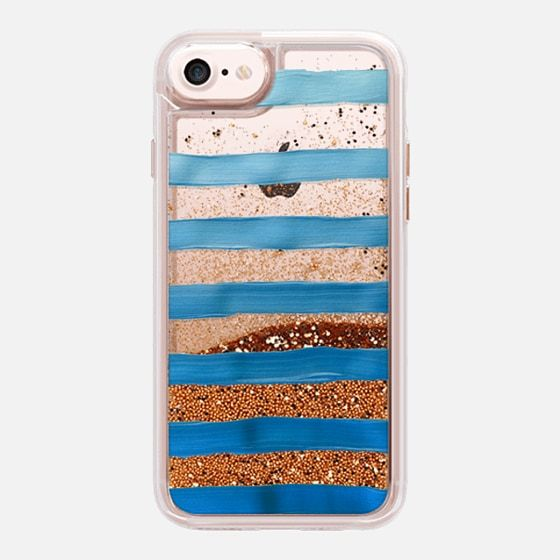 Ombre Blue Stripes (transparent)