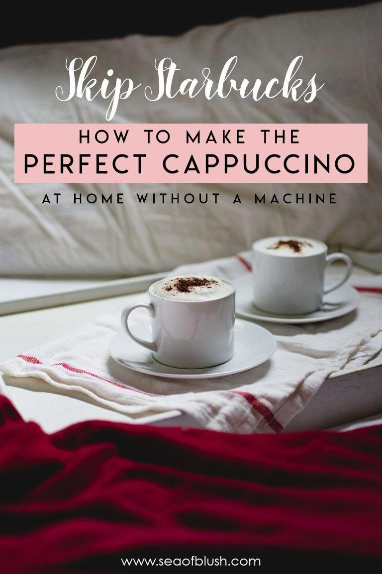 How to Make Cappuccino at Home without an Espresso machine THE BEST Cappuccino of Your Life!  This recipe is so easy and does not require a machine.  I make this every day at work! #coffee #coffeeaddict #Nespresso #espressoathome How to Make Cappuccino at Home without an Espresso machine THE BEST Cappuccino of Your Life!  This recipe is so easy and does not require a machine.  I make this every day at work! #coffee #coffeeaddict #Nespresso #espressoathome How to Make Cappuccino at Home without a #espressoathome