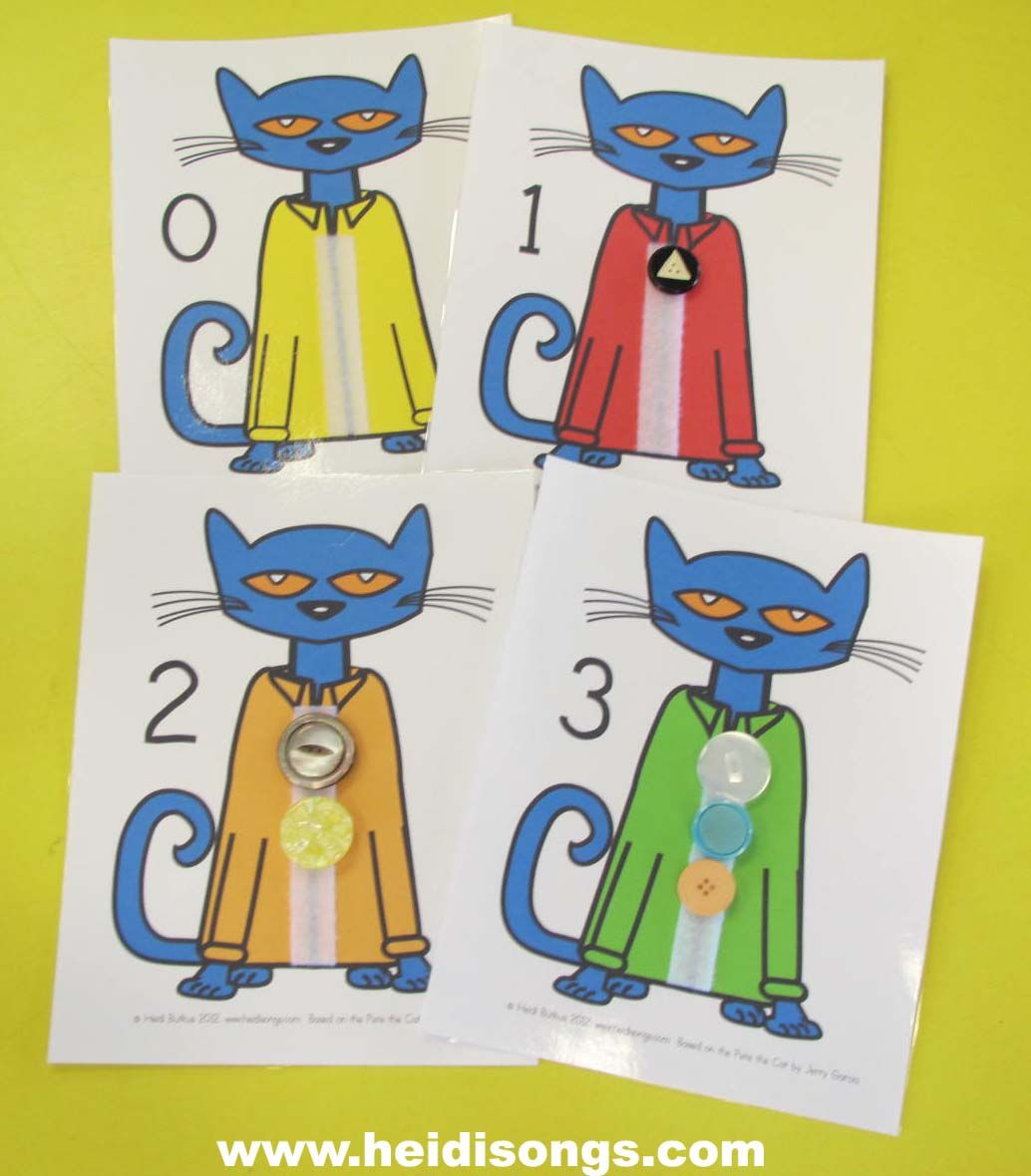 Heidisongs Resource A Pete The Cat Freebie And A Brand
