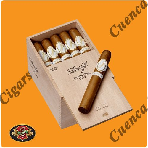 Davidoff Grand Cru Toro Cigars - Box of 25 - Price: $515.90