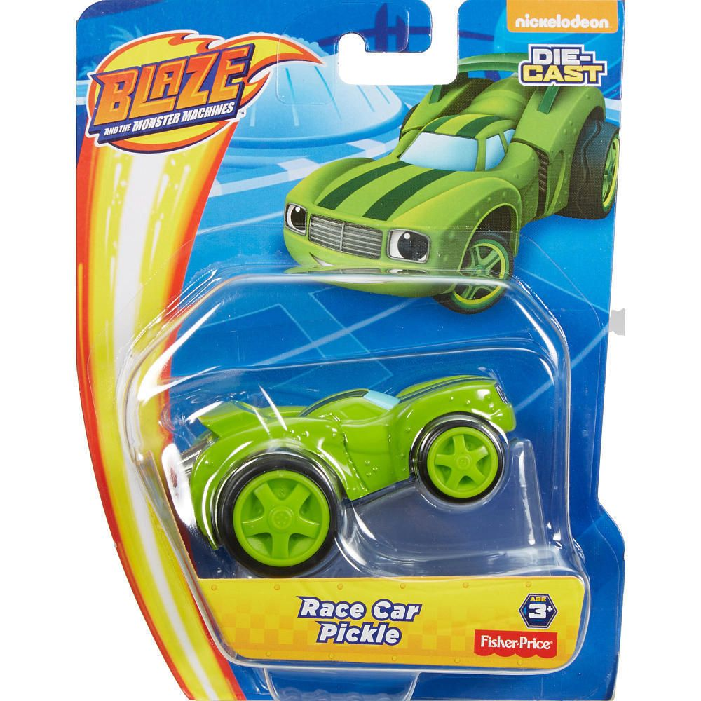 Fisher Price Nickelodeon Blaze And The Monster Machines Race Car