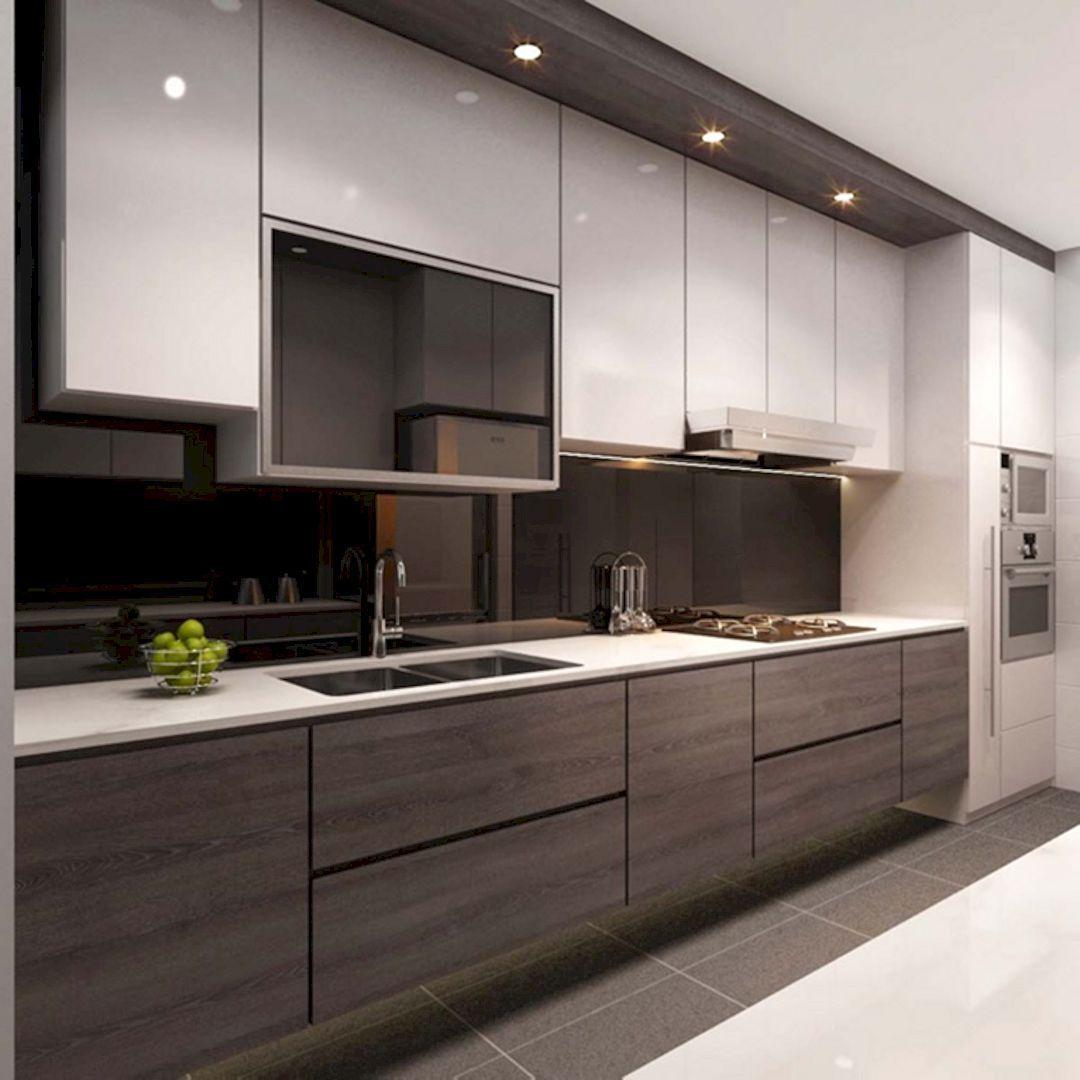 The Kitchen A Fresh Restaurant With Modern Interior Design For High End Eating Latest Kitchen Designs Kitchen Interior Design Modern Kitchen Cabinet Design