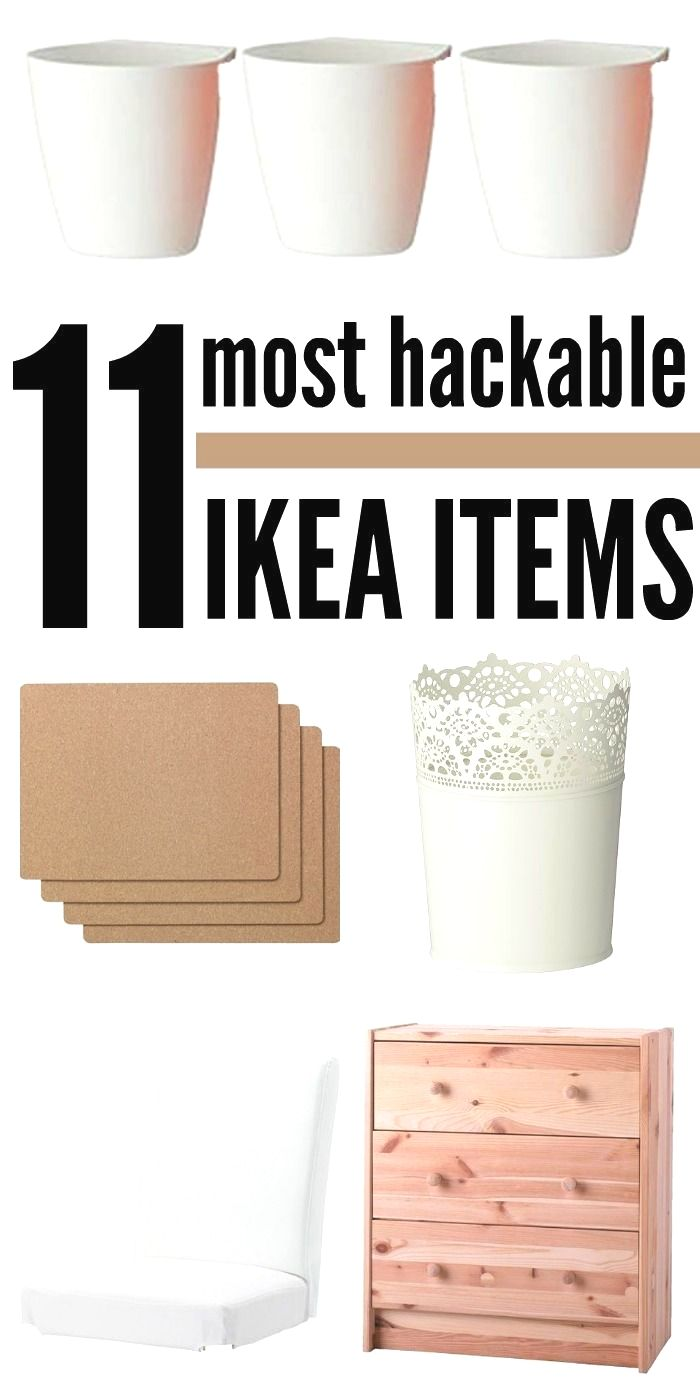 11 IKEA Products that Make IKEA Hacks Simple in 2020 | Ikea