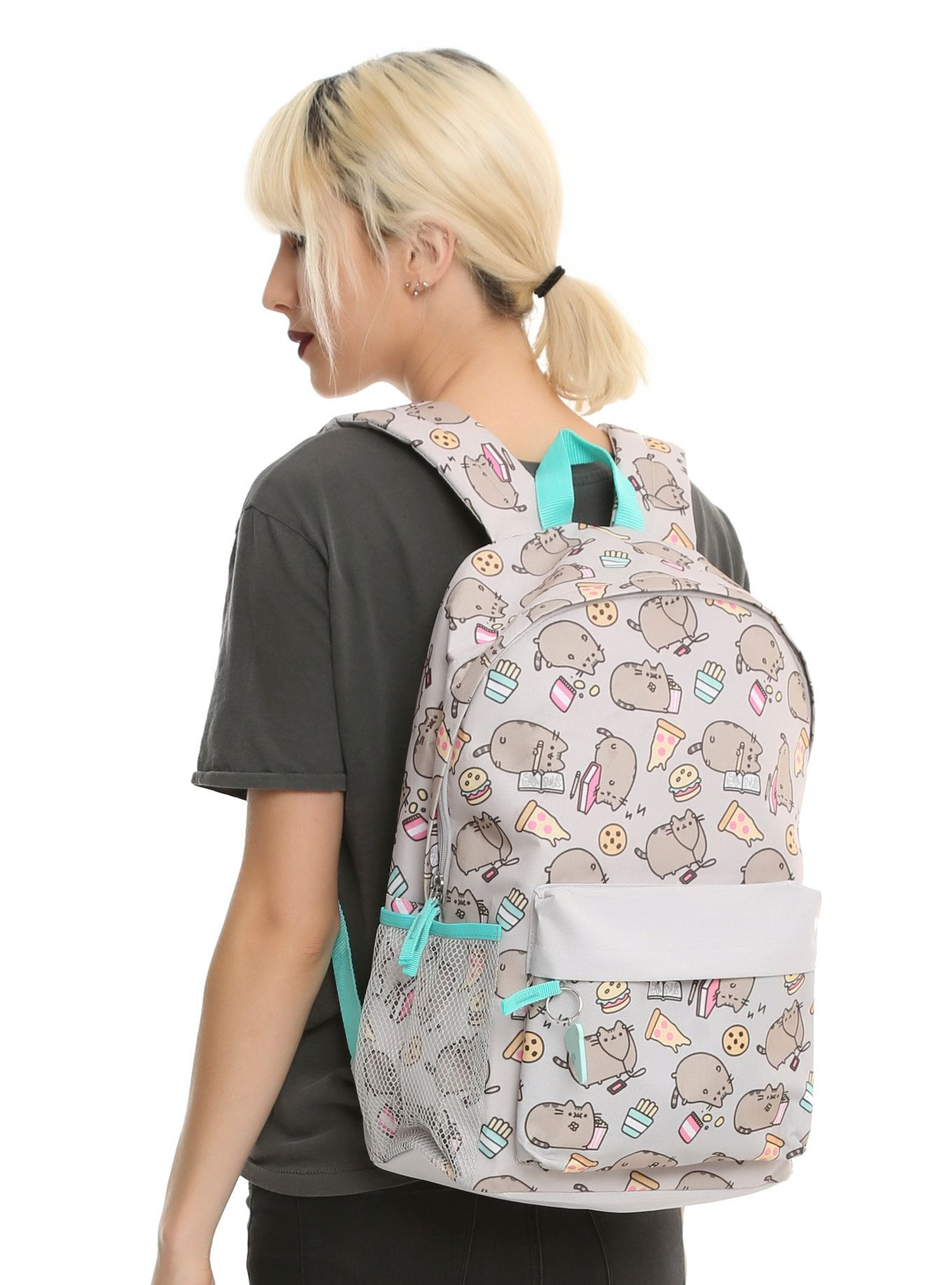 d005d82d3c5 PUSHEEN CHILLIN & SNACKIN PRINT BACKPACK | Chillin' and snackin' - it's  what Pusheen does! You can too. Just load up this backpack with your  favorite treats ...