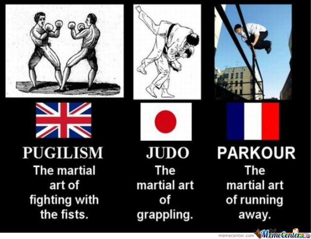 France Will Never Live Wwii Down Martial Arts Funny Memes Funny