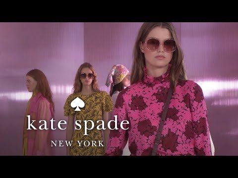 01714960d8d39 new york fashion week spring 2019 runway show | kate spade new york -  YouTube