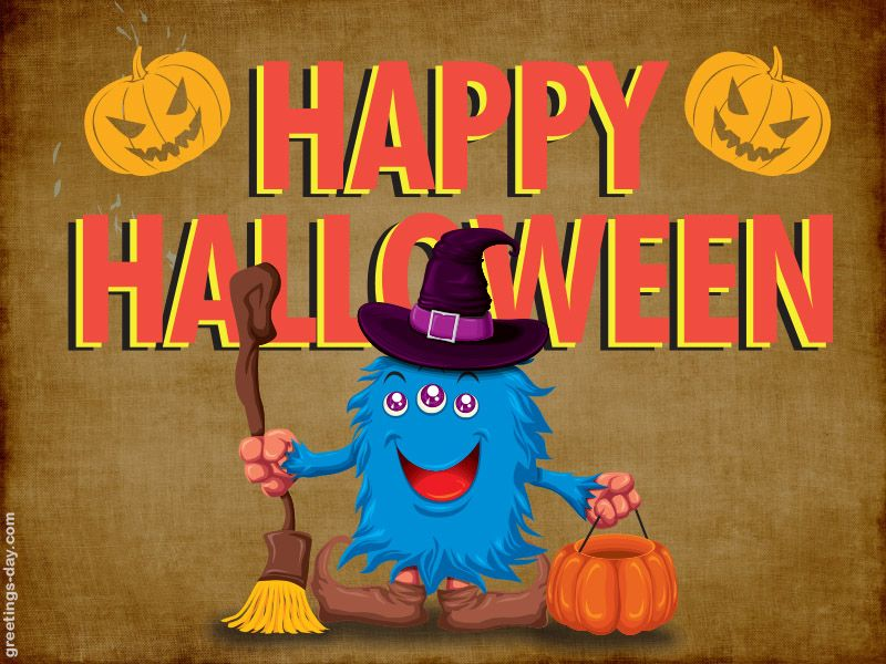 Bon Happy Halloween · Image On Free Daily Ecards ...