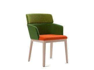 Sedia Imbottita Con Braccioli : Sedia imbottita in tessuto con braccioli concord sedia imbottita