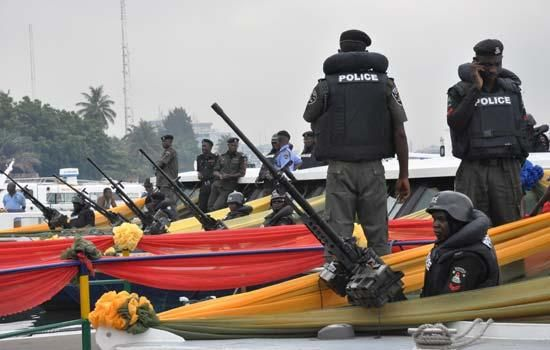 Armed Robbers attack Lagos police station, Destroy gunboat