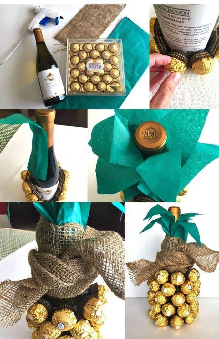 kreative ideen wie sie weinflaschen verpacken und