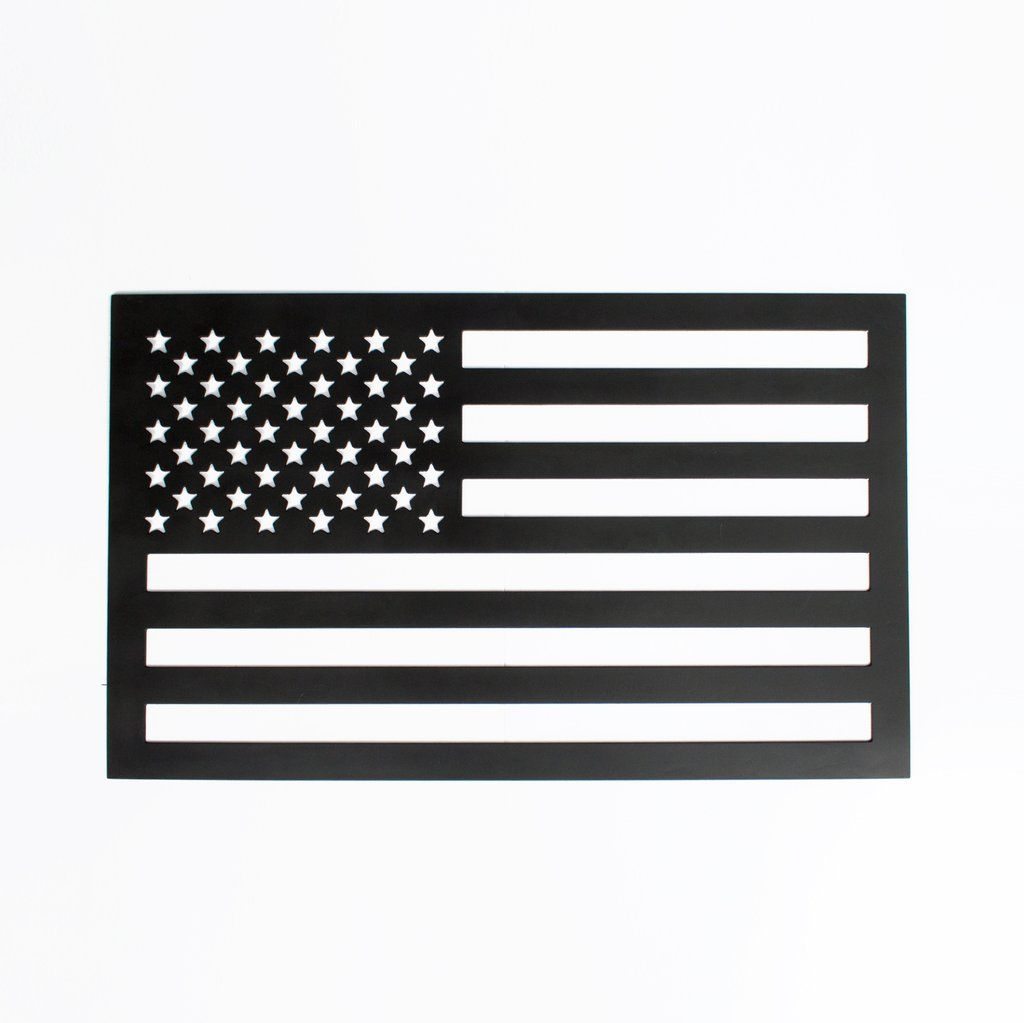 American Flag Metal Sign Northwoodsoutdoor Us Metal Signs American Flag Unique Flags