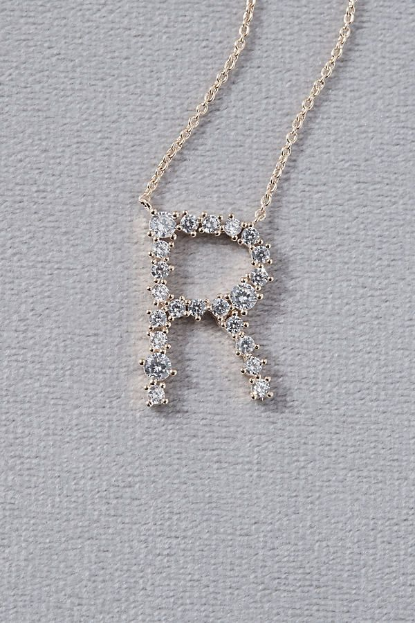 Photo of Crystal Monogram Necklace