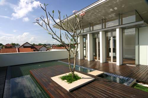 Tropical Architecture Modern Tropical Houses Singapore SG - Tropical house design concept
