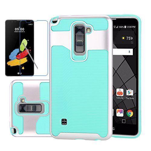Lg Stylus 2 Plus Case Lg Stylus 2 Case Lg Ls775 Case Lookly Slim Fit Wavelength Series Textured Pattern Grip Shockproof Protective Cases Case Cover Case