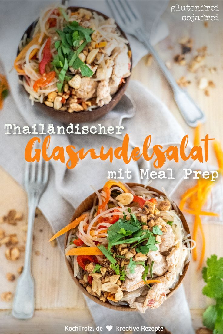 Photo of Thai glass noodle salad | Yum Woon Sen with Meal Prep – KochTrotz | creative recipes
