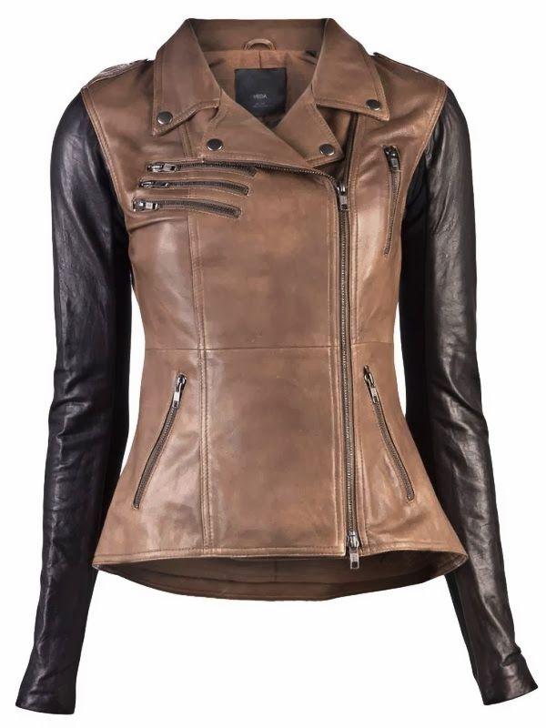67c521d46ae4 20+Veda+Supreme+Two+Tone+Leather+Jacket.   Coats & Jackets   Fashion ...