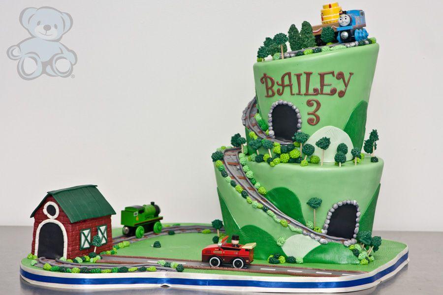 Wondrous Thomas The Train Birthday Cake Gainesville Fl Thomas Birthday Birthday Cards Printable Inklcafe Filternl
