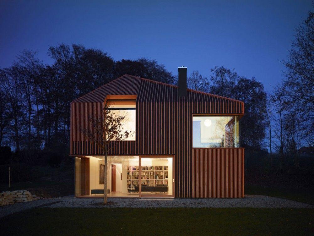 House 11 x 11 / Titus Bernhard Architekten - Munich