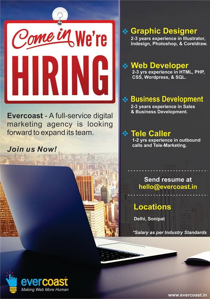 Wanted Web Developers, Graphic Designers, Business Development - Resume Now Customer Service