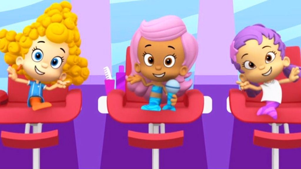Bubble Guppies Hair Style