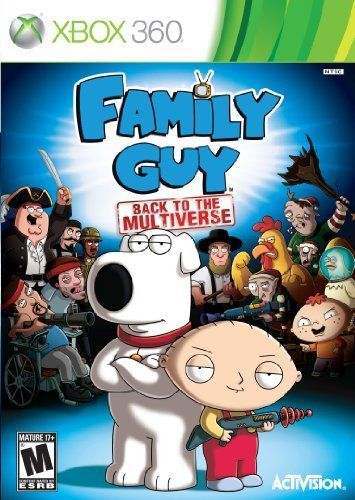 Family Guy Back To The Multiverse Xbox 360 By Activision To
