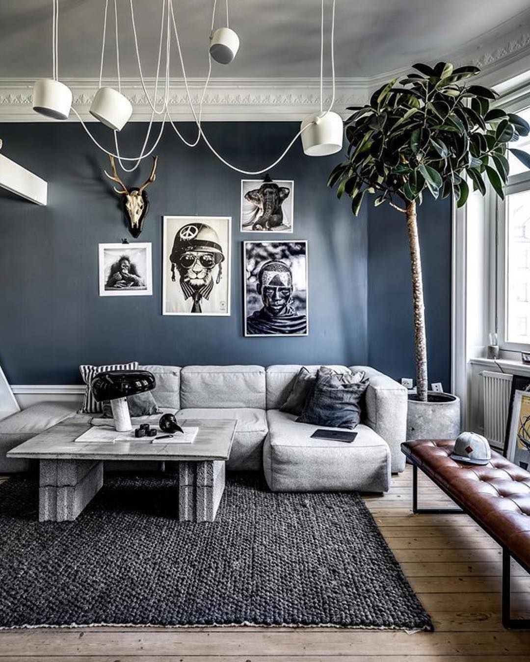 1 205 Likes 22 Comments Interiors Design Architecture Jahddesign On Instagram Inspiration Of T Home Room Design Stylish Living Room Living Room Designs