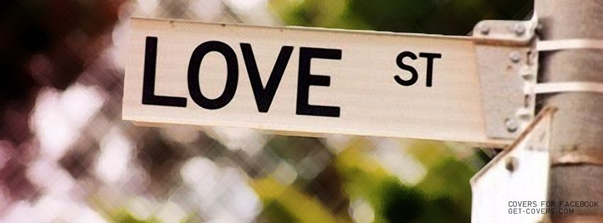 Fb Covers Love Street Signs Peace And Love Jim Morrison
