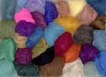 wool for felted soap!