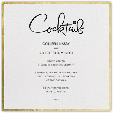 Holiday - Winter Occasions - Christmas Cards \ Invitations - formal dinner invitation letter