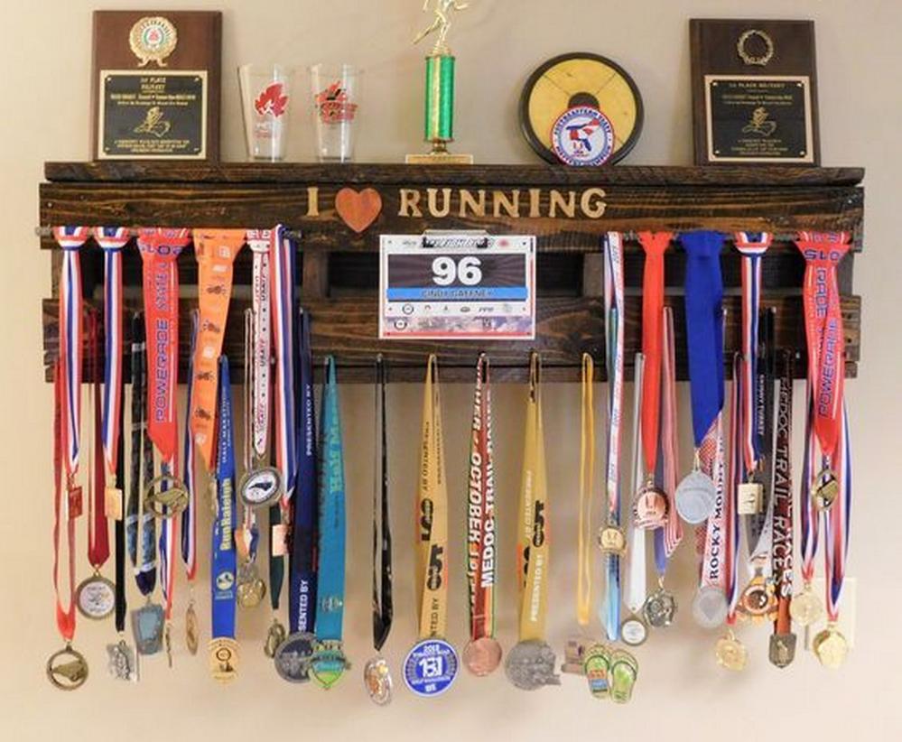 diy medal display rack diy projects