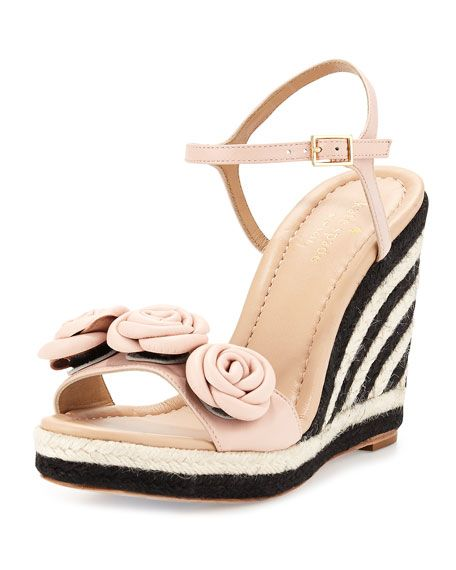 Kate Spade New York Ankle-Strap Wedge Sandals official sale online clearance footlocker finishline low price rD0OKUJ