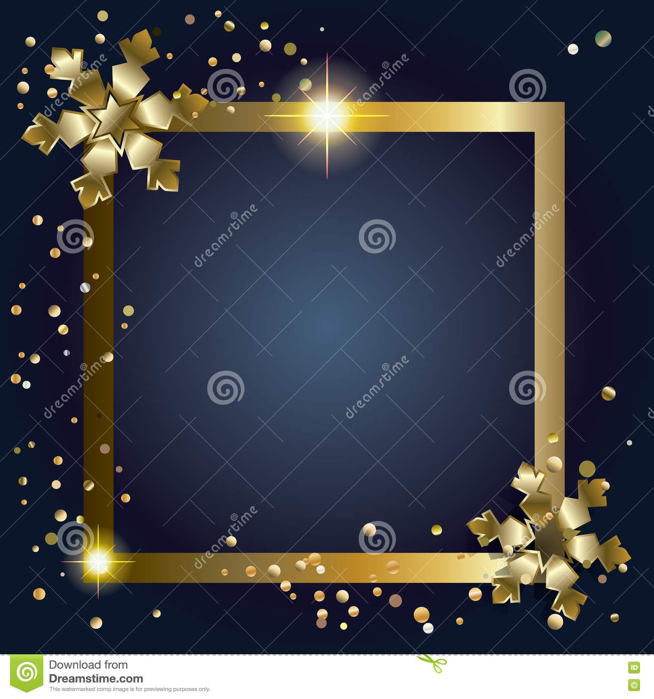 Happy New Year 2019 copy space frame. Greeting card