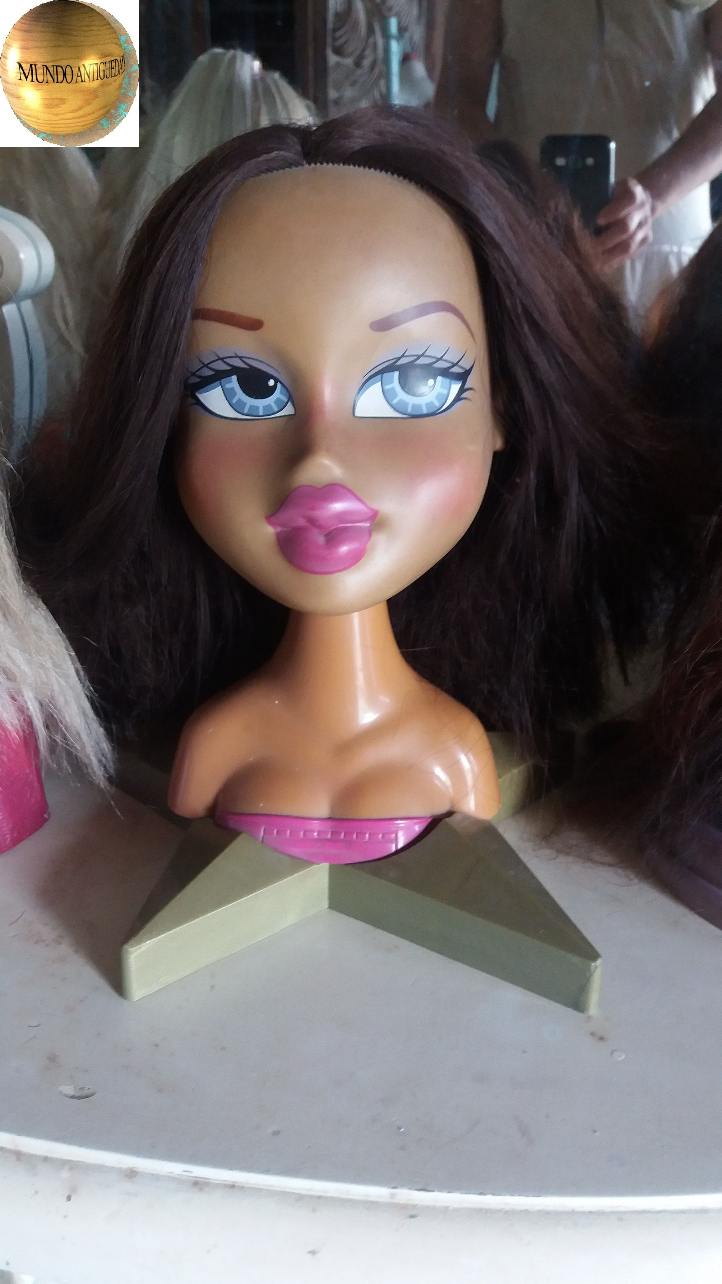 Muñeca Barbie cabeza para peinar y maquillar,Bratz | Muñeca Barbie ...