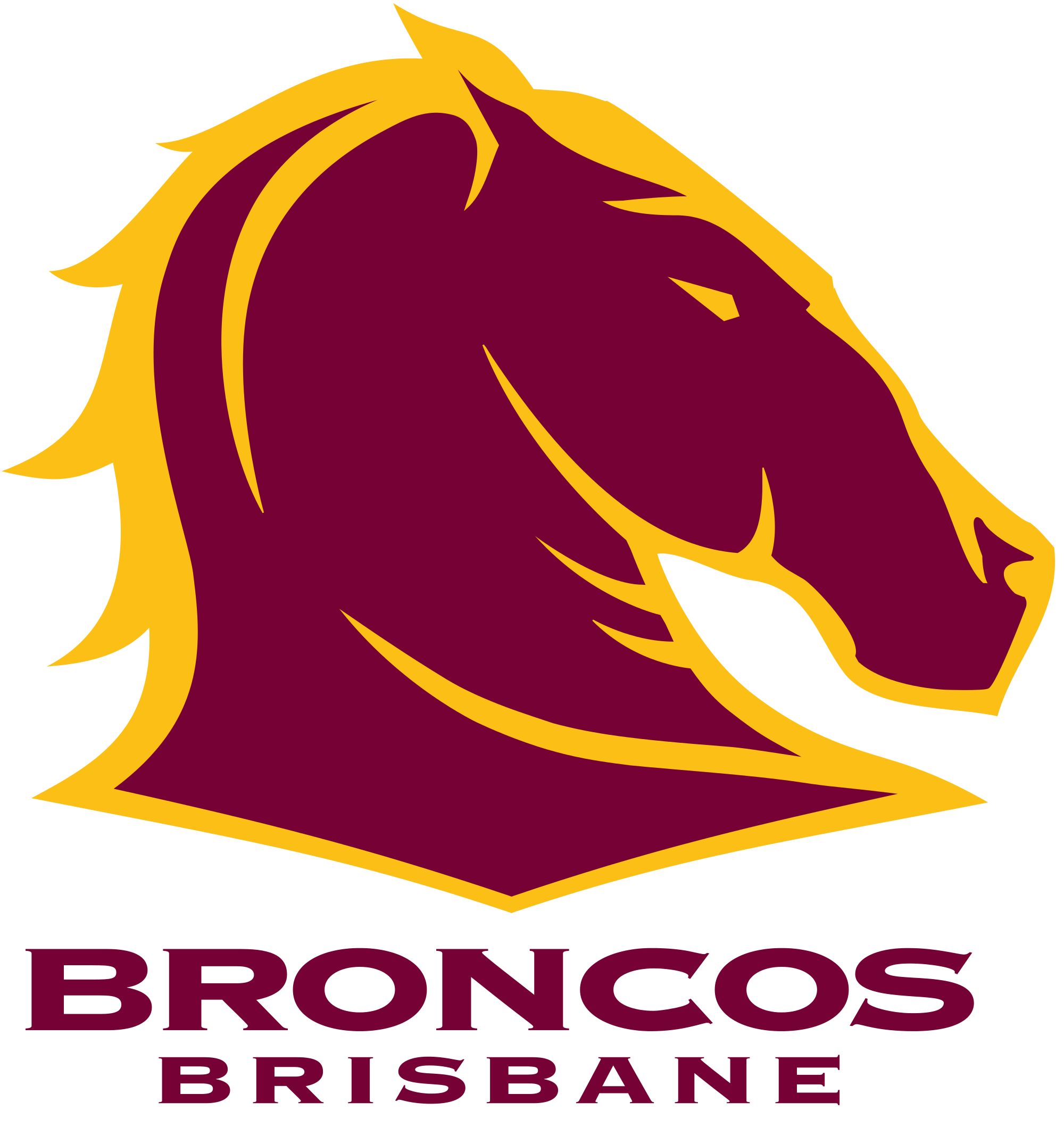 Brisbane Broncos Sport Logos Pinterest Brisbane