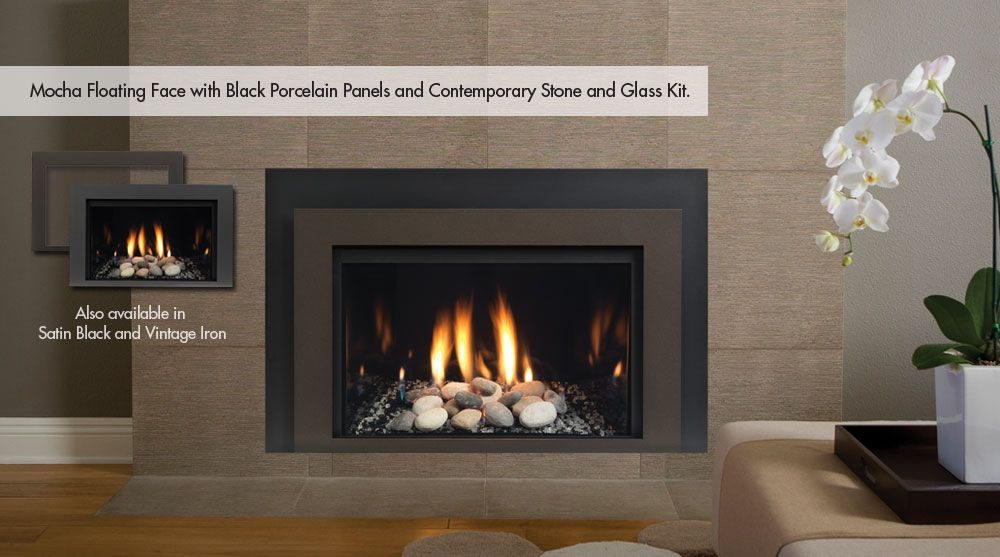 Vented gas fireplace …