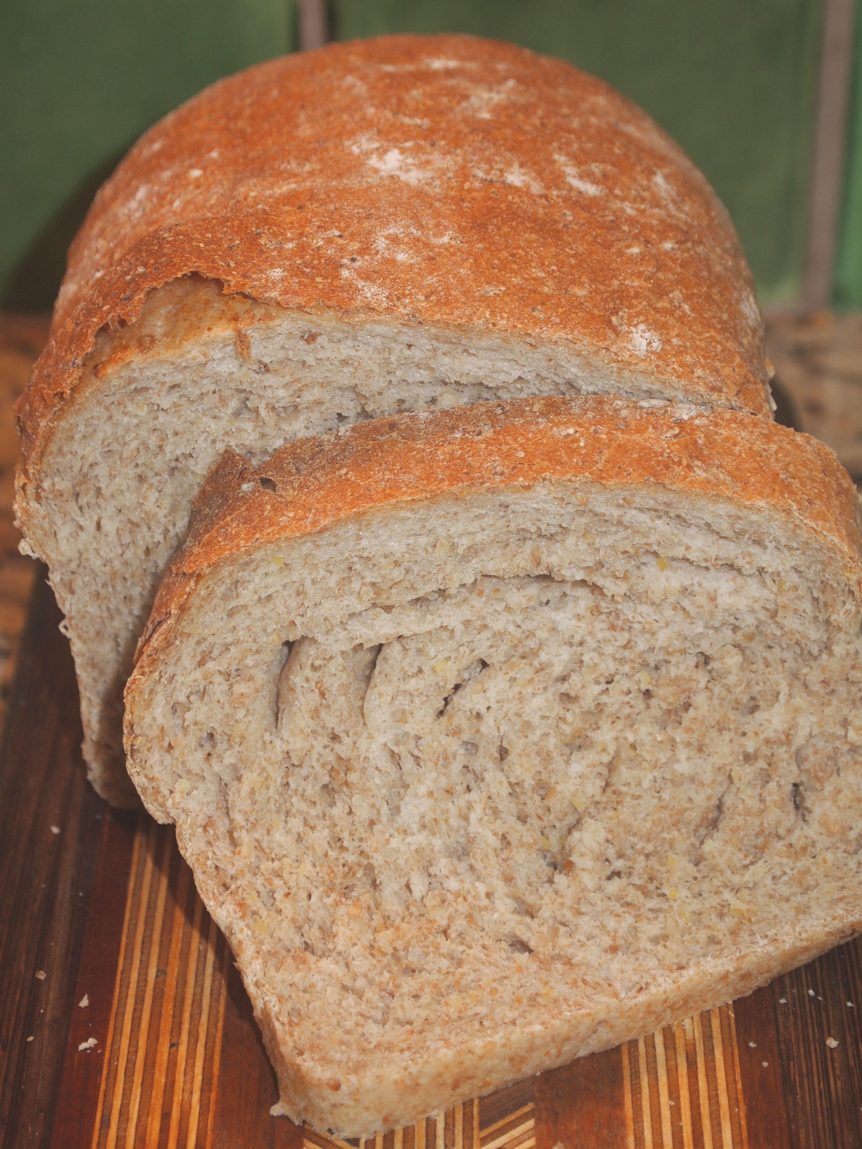 Multigrain Sandwich Bread Tip For Placing In Pan Recipes Cooking Bread Bread Machine Recipes