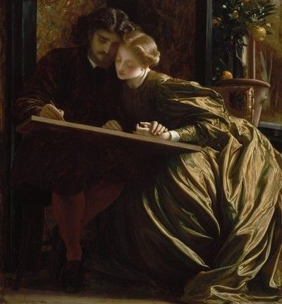 Frederic Leighton, Painter's Honeymoon, c.1864