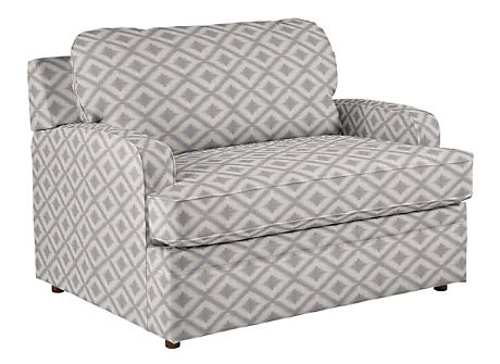 How cute is this Diana twin sleeper chair from La Z Boy? Would be