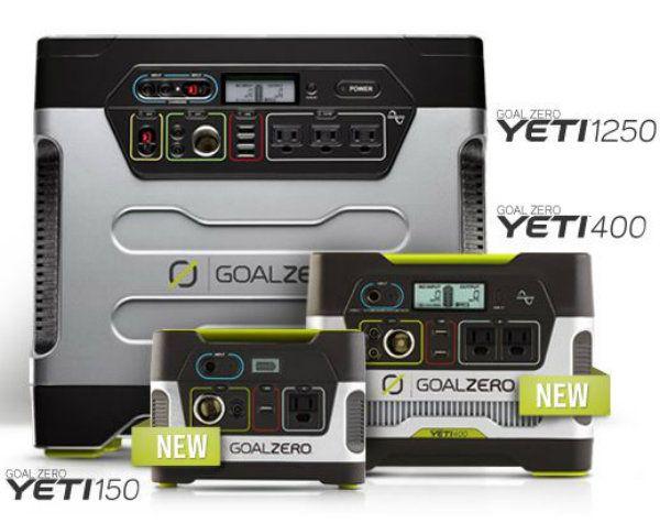 Yeti Solar Charger Family Yeti 150 400 Or 1250 Solar Technology Solar Solar Panel System