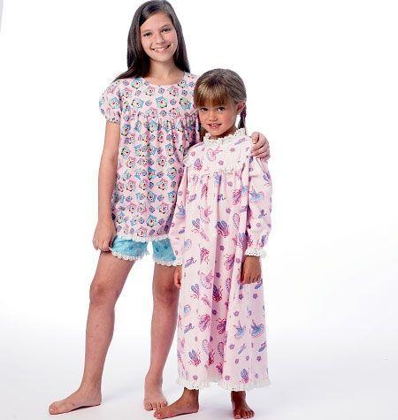 süßes Nachthemd für Mädchen | Nachthemden | Pinterest | Nachthemden ...