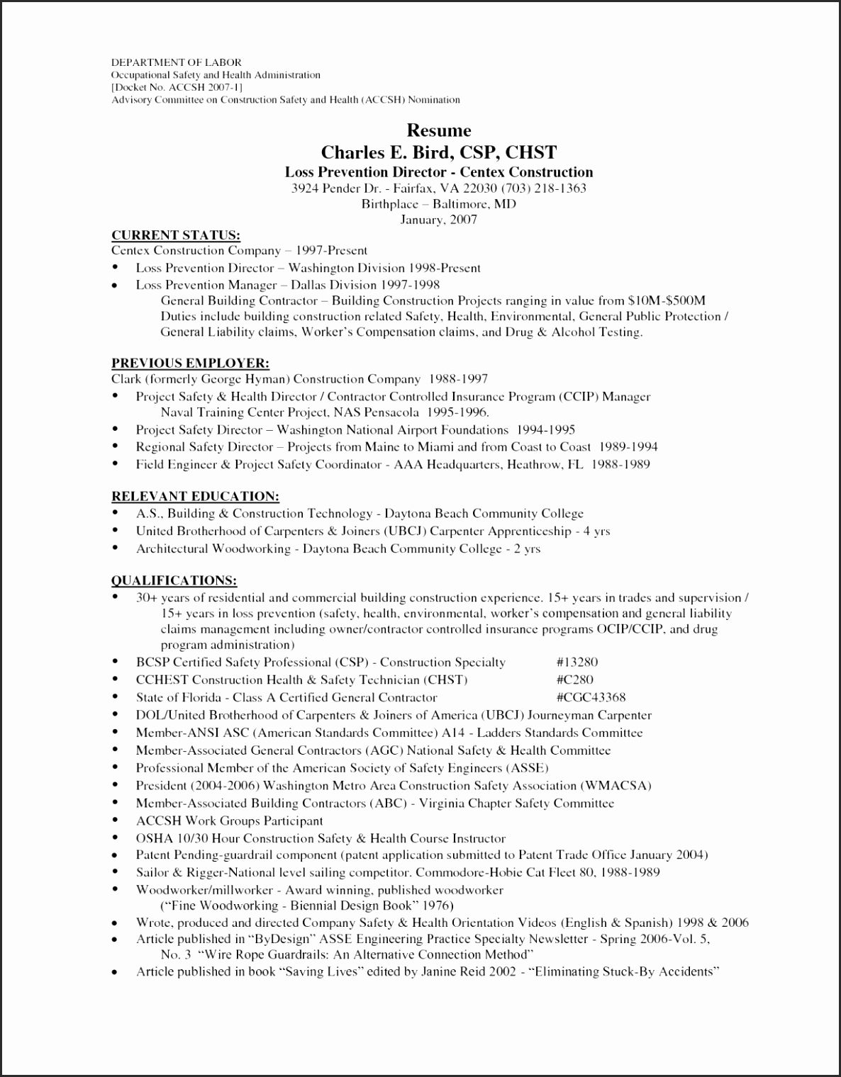 15 General Contract Template Resume writing examples