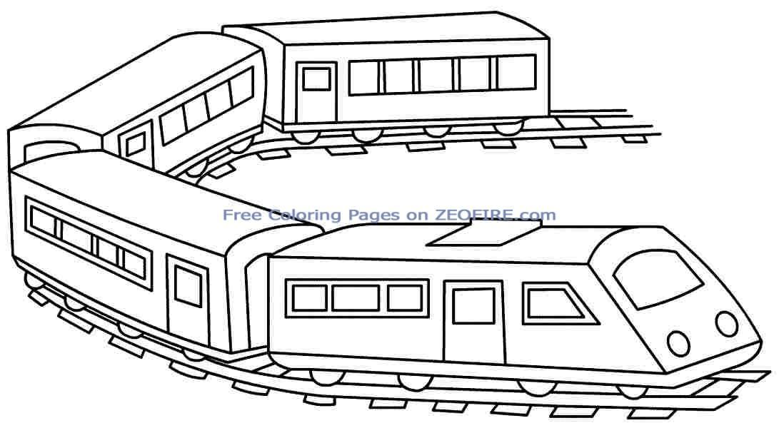 Train Coloring Book Free Train Coloring Pages Thomas The Train