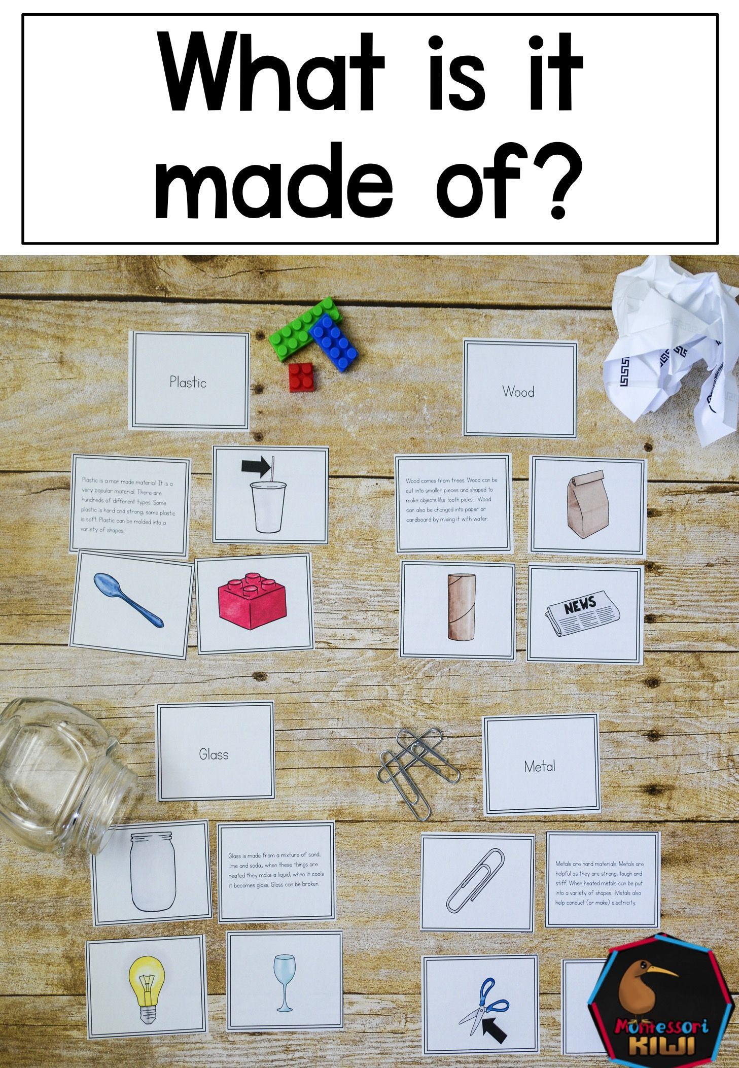 What Is It Made Of Materials Around Us