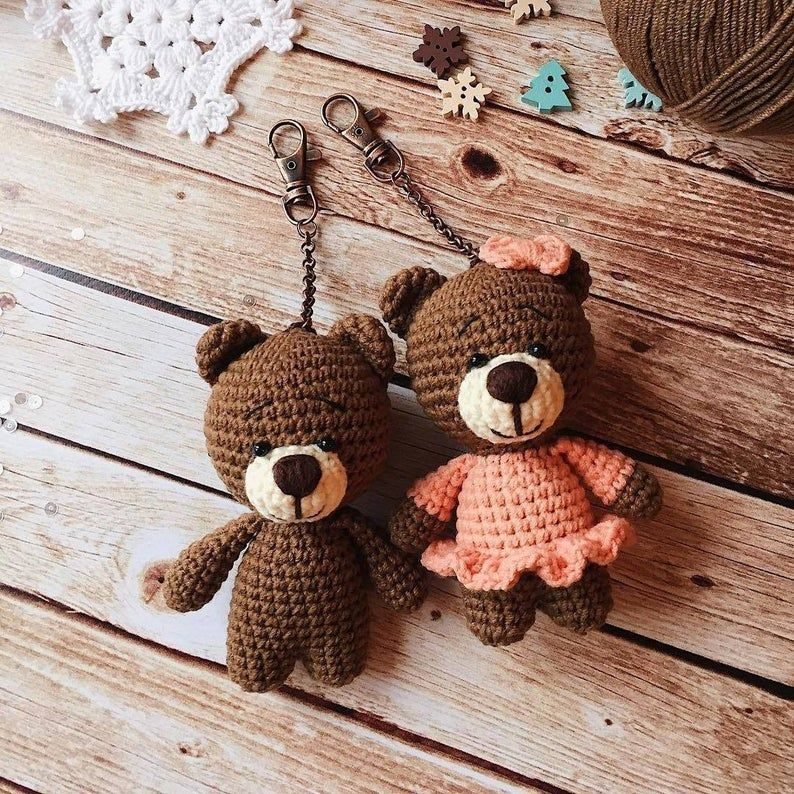Amigurumi teddy bear pattern (English)