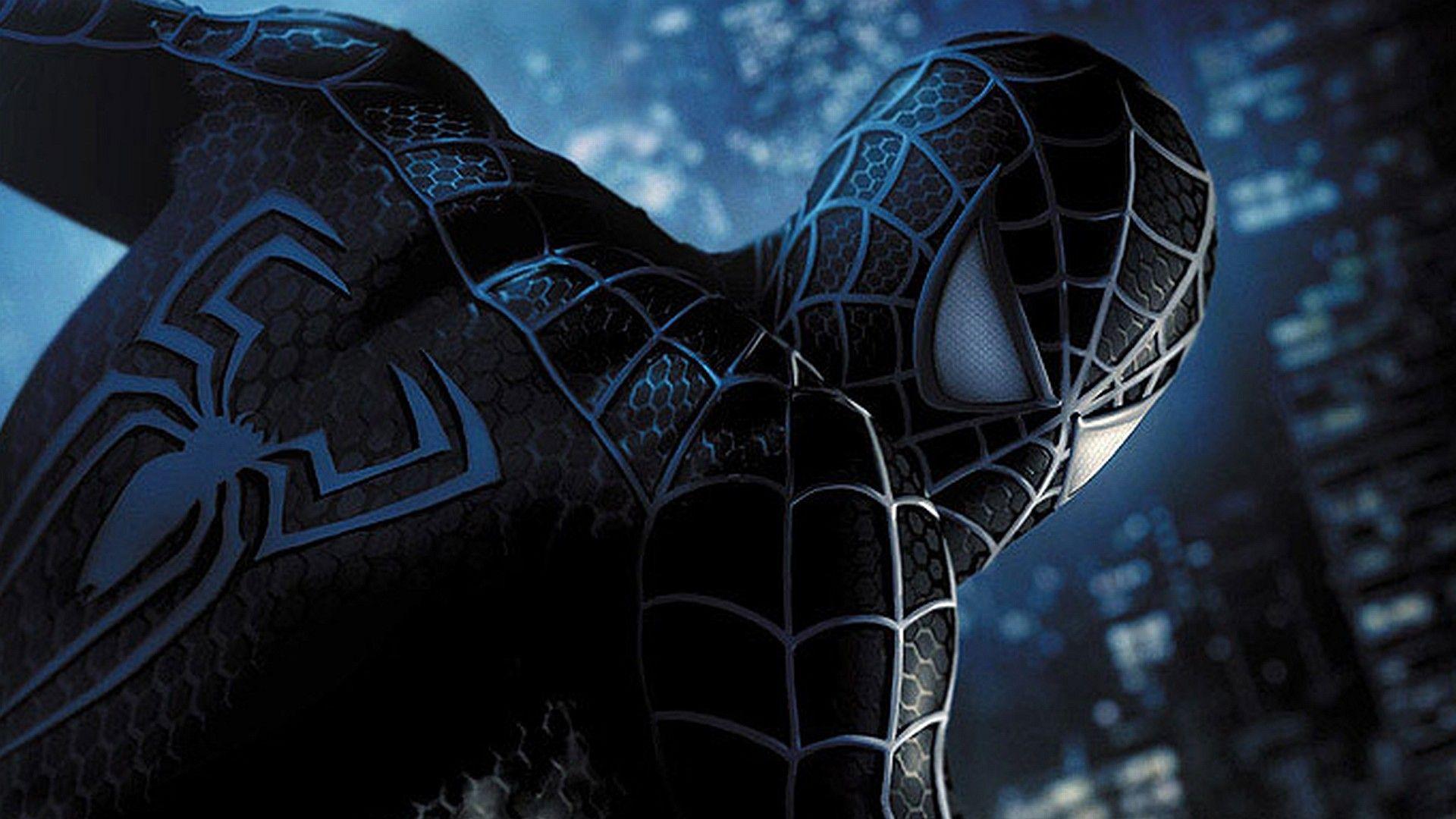 1920x1080 Free Spiderman And Venom Wallpaper Background Black Spiderman Spiderman Comic Spiderman 3 Wallpaper